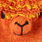 Orange Alpaca Kids - Alpaca Fingerless Gloves