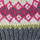 Charcoal.-Multicolor 4 Cabin Alpaca Kids Hat