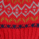 Bright Red.-Multicolor1 Jasper Alpaca Kids-Hat