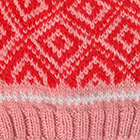 Pink Jade.-Bright Red Abbie Alpaca Kids-Hat