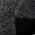 Black Alpaca Boot Unisex Socks