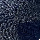 Navy Alpaca Boot Unisex Socks