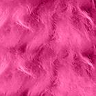 Fuchsia BABY ALPACA Fur - Cotton Kandi Ornament 15 inches
