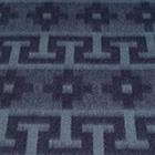 Graphite Alpaca Ethnic Inka Blanket