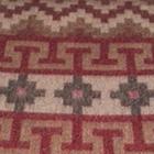 Wine-Comb1 Alpaca Ethnic Inka Blanket