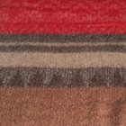 C0312-Red/Camel Alpaca Cherokee Blanket