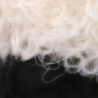 Natural-Black Needle Felted Baby Alpaca Sheep