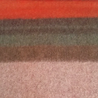 C383-Bright Orange-Rose Alpaca Cherokee Blanket