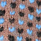 Henna Mlge.-Multicolor-3 Alpaca Thrummed Mittens