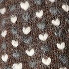 Brown Mlge.-Multicolor-3 Alpaca Thrummed Mittens