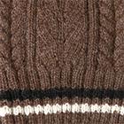 Brown Heather Angelle Alpaca Knit Hat