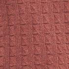 AmberMelange-Brown Joseph Zip Neck Alpaca Sweater