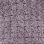 GreyMelange-Black Joseph Zip Neck Alpaca Sweater