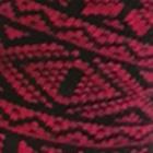 Alpaca Nordic Socks in Black-Red   Classic Alpaca Peru