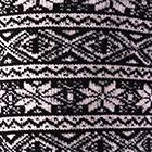 Alpaca Nordic Socks in Black-Beige   Classic Alpaca Peru