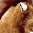Handmade Alpaca Fur Pony Stuffed Animal Horse 12 inches