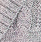Micaela Cable Alpaca Cardigan in Grey Mlge.   Classic Alpaca Peru