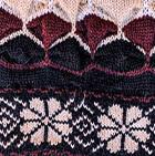 Natura Alpaca Knit Hat - Fleece Lining in Black-Comb 2 | Classic Alpaca Peru