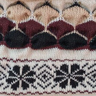 Natura Alpaca Knit Hat - Fleece Lining in Natural-Comb 2 | Classic Alpaca Peru
