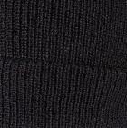Men's Double Knit English Alpaca Hat in Black   Classic Alpaca Peru