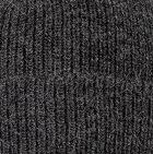 Men's Double Knit English Alpaca Hat in Charcoal   Classic Alpaca Peru
