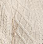 Men's Alpaca Crewneck Pullover Sweater in Natural | Classic Alpaca Peru