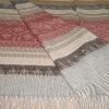 Alpaca Cherokee Blanket in C0302-Coral   Classic Alpaca Peru