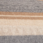Alpaca Cherokee Blanket in C0304-Silver-Camel-Beige   Classic Alpaca Peru