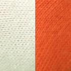 Double Knit Alpaca Hunter Gloves in Bright-Orange-Natural | Classic Alpaca Peru