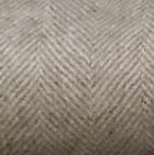 Woven & Brushed Herringbone Baby Alpaca Throw in Grey-Natural | Classic Alpaca Peru
