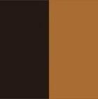 Brown Mlge.-Tan Reversible Alpaca Fabric Sport Vest Women