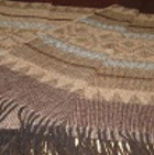 C0402-Brown/Camel/Grey Alpaca Cherokee Blanket