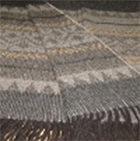 C0404-Charcoal/Grey/Sand Alpaca Cherokee Blanket