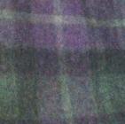 Scottish Blanket in 98-202-Green/Lilac | Classic Alpaca Peru