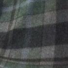 Scottish Blanket in 98-422-Green/Charcoal | Classic Alpaca Peru
