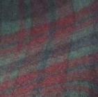 Scottish Blanket in 98-502-Red/Green | Classic Alpaca Peru