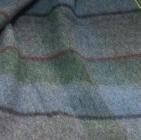 Scottish Blanket in 98-213-Silver/Powder blue/Green | Classic Alpaca Peru