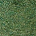 Fish Tail Alpaca Fingerless Gloves in Green Melange | Classic Alpaca Peru