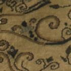 Full Embroidered Ladies Alpaca Cardigan / Camel-Brown Mlge.