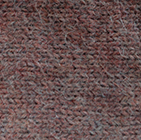 Alpaca Cable Fingerless Gloves in Henna Melange  | Classic Alpaca Peru