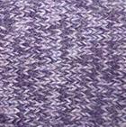 Cable Alpaca Headband in Mixt.Purple-Lilac Mlge. | Classic Alpaca Peru
