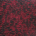 Cable Alpaca Headband in Mixt.Burgundy-Black | Classic Alpaca Peru