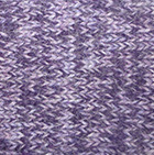 Alpaca Cable Fingerless Gloves in Mixt. Purple-Lilac Mlg. | Classic Alpaca Peru