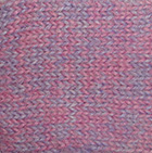 Alpaca Cable Fingerless Gloves in Mixt. Pink-Lilac Mlge. | Classic Alpaca Peru