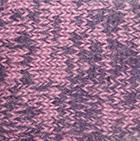 Alpaca Cable Fingerless Gloves in Mixt. Pink-Purple | Classic Alpaca Peru