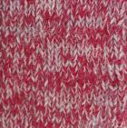 Alpaca Cable Fingerless Gloves in Mixt. Red-Lt.Grey-Beige | Classic Alpaca Peru