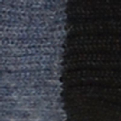 Denim-Black Reversible Alpaca Mittens Heavy Weight