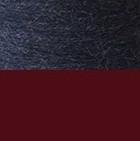 Burgundy-Denim Reversible Alpaca Gloves Heavy Weight