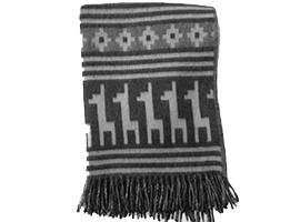 Alpaca Ethnic Llama Blanket | Classic Alpaca Peru