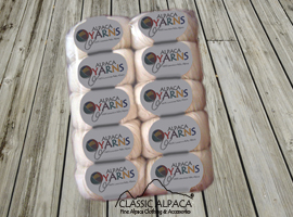 Baby Alpaca Yarn Skeins - Pack (10 Skeins)